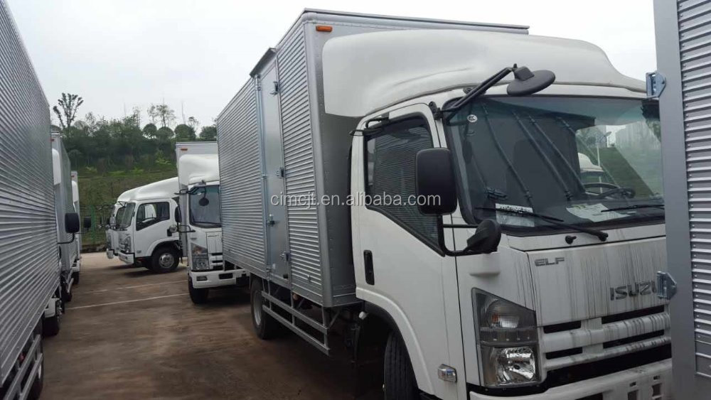 ISUZU TRUCKS VAN TRUCK AND ISUZU ELF FOR SALE