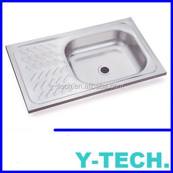 Cheap Philippines Single Bowl Stainless Steel Kitchen Sink YK7344AR