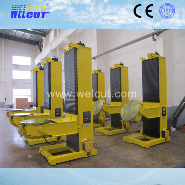 L-type 3-axis hydraulic elevation welding positioner