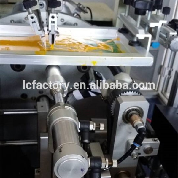 Copo de plástico e frascos de perfume de vidro máquina de impressão da tela