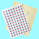 Packaging label sticker heat sensitive paper vinyl stickers PVC labels and decals