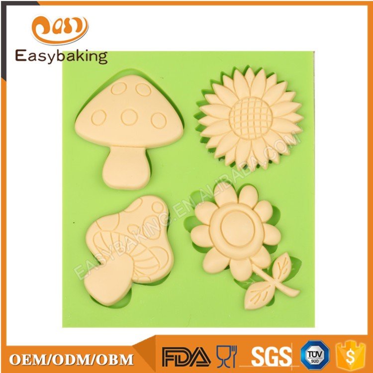 ES-4412 Fondant Mould Silicone Molds for Cake Decorating