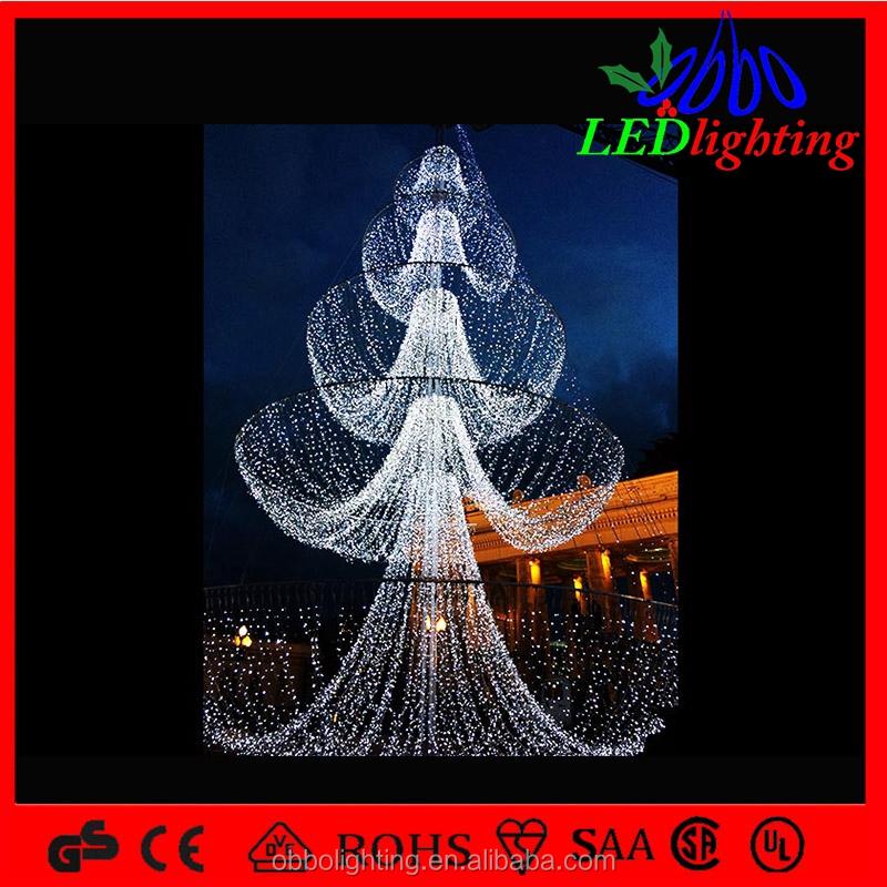 led rbol de caracol blanco iluminado navidad exterior cono rboles gigante rbol de navidad decorado con