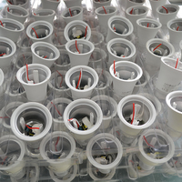 China mufactory supply 3W5W7W10W12W15W plastic aluminum housing led lamp SKD,A60A70 A80 led bulb spare parts