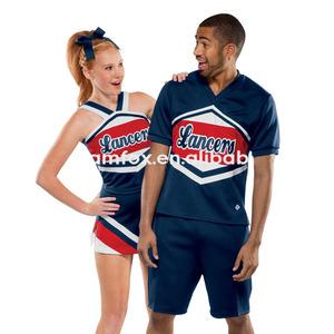 6cb3792b890632 Custom Cheerleading Crop Top Wholesale