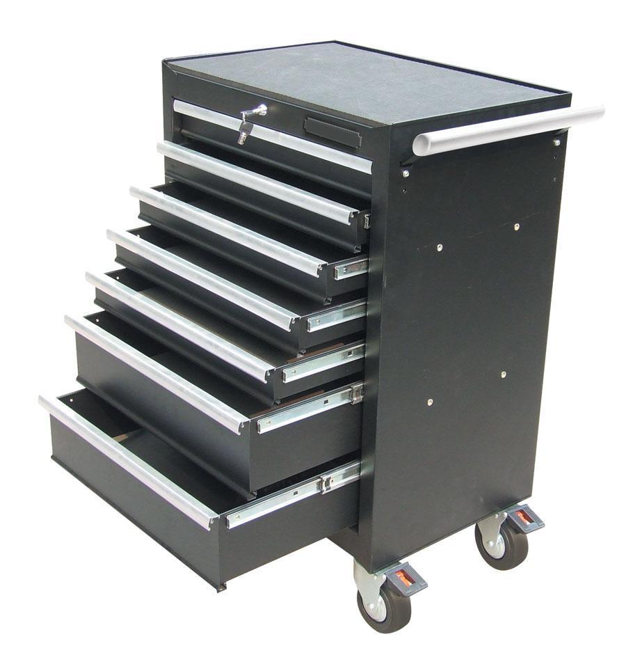 Professional Powder Coated Metal Tool Box With Wheels - Buy Metal ...