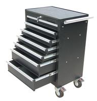 Professional Powder Coated Metal Tool Box With Wheels - Buy Metal ...