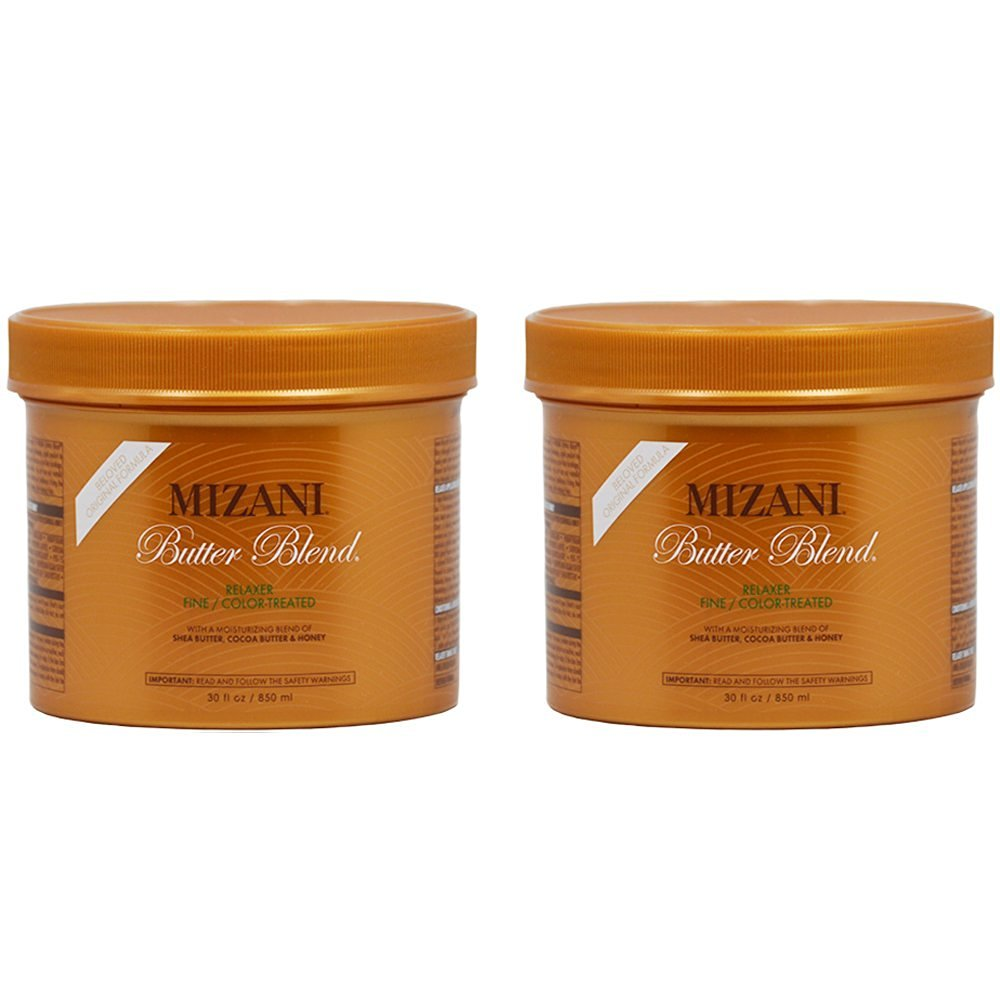 Buy Mizani Butter Blend Relaxer For Fine Color Treated 30oz Pack