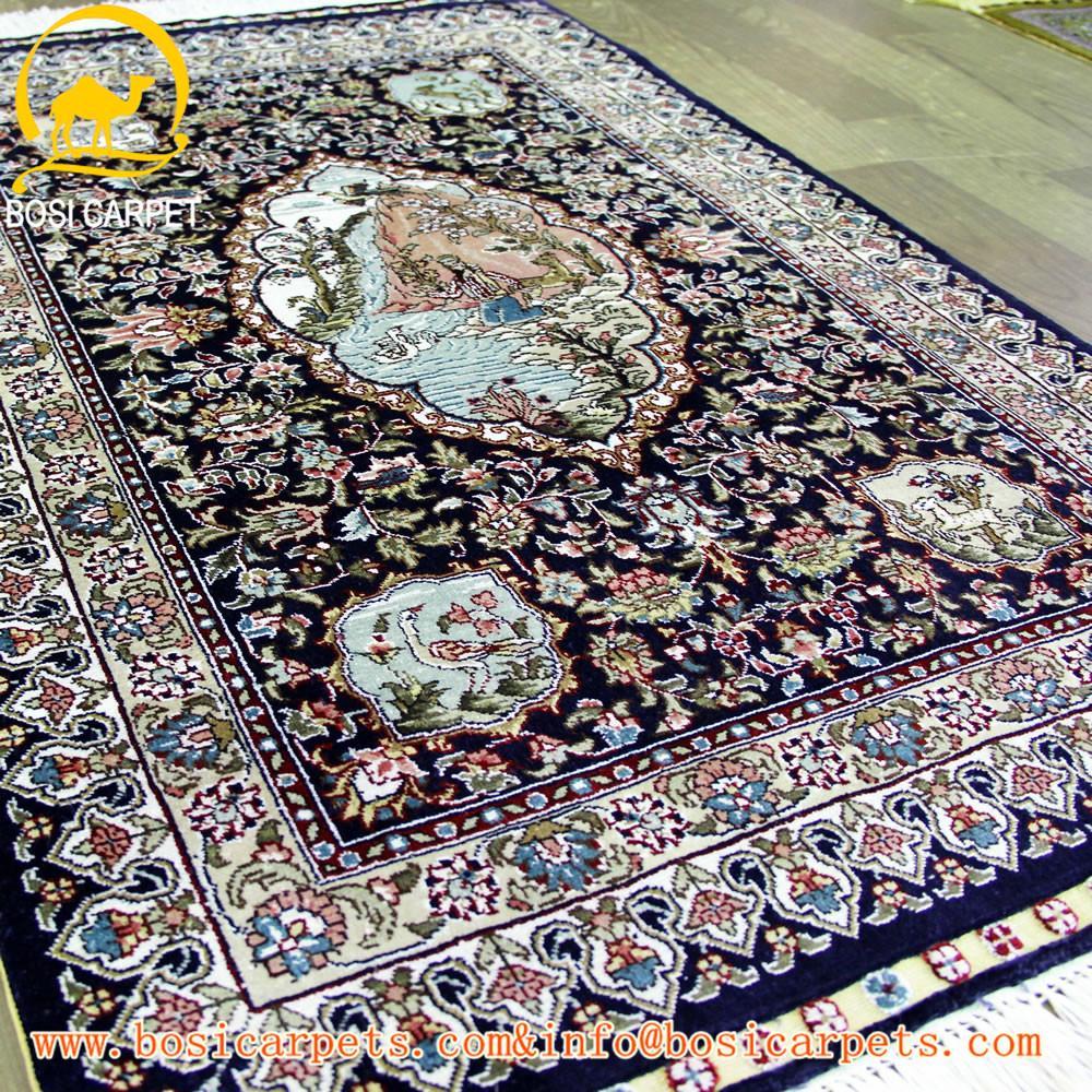 Gut gemocht 2x3ft turc tapis de soie tapis fait main accueil textile turquie  JZ12
