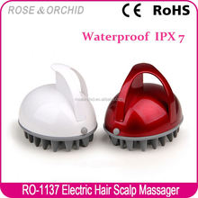 Factory wholesale colorful scalp head massager for salon