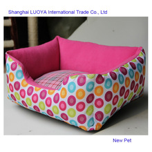 Excellent quality attractive fashion canvas fabrics non-removable bed earthbound dog beds