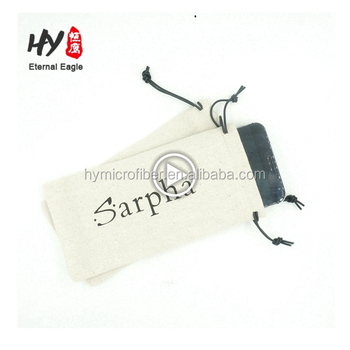Multifunctional high quality promotion accessories cell phone microfiber pouch