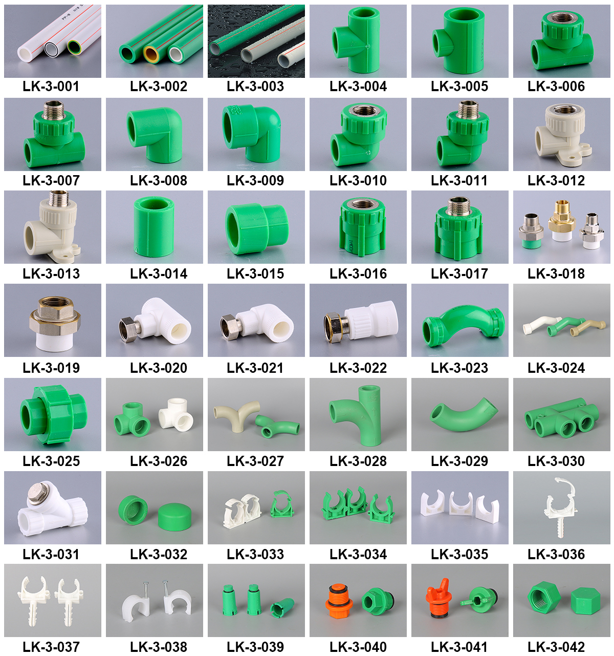 LK-3-017 ( 1/2*20 mm )  low price factory supply high quality ppr brass pipe fittings PP-R brass male threads socket fitting
