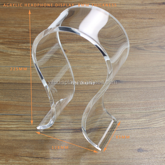 Wholesale Acrylic Headphone Display Stand,Customized Headphone ...