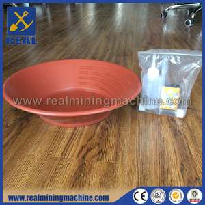 Plastic gold pan kits gold prospecting equipment for sale