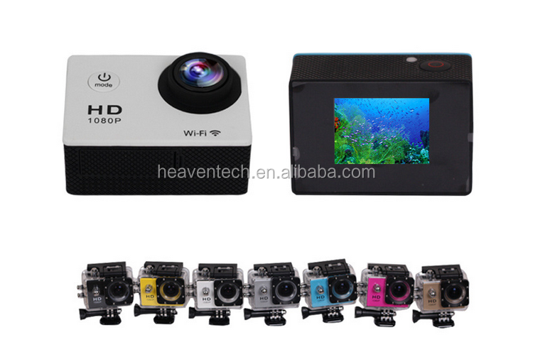 NEW DESIGN factory wholesale sj4000 wifi underwater camera mini dv sport action camcorder