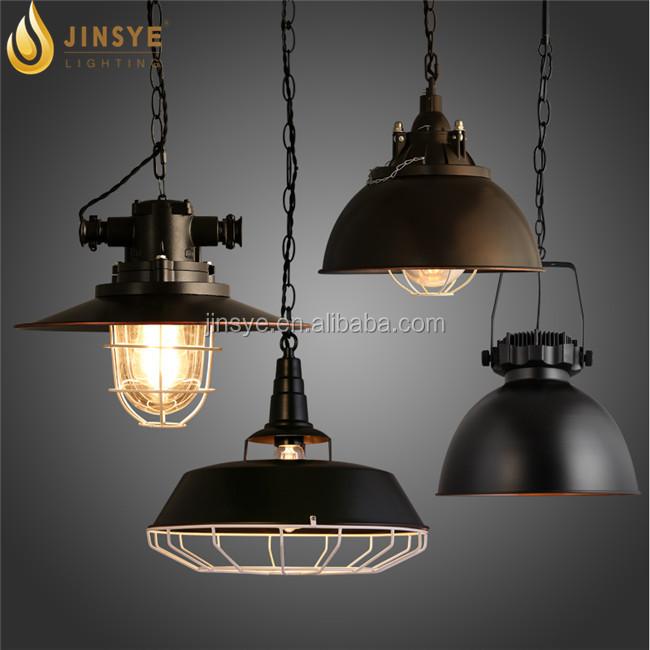 Retro Metal Black Lamp Shade Hanging