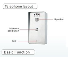 voip phone adapter skype access control door phone koontech KNZD-45
