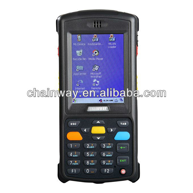 C2000W Barcode Scanner---Handheld 2D barcode Scanner, WiFi, Bluetooth,Optional GPRS support
