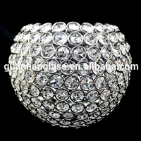 Hot wholesale crystal white ball lamp decorative shades