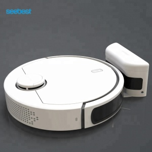 Lidar navigation robot vacuum cleaner smart cleaner with WIFI APP controlled