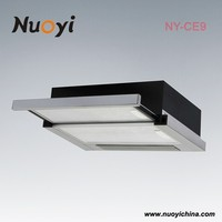 3 speed finger touch control premium stainless steel powerful commercial best selling 900mm under cabinet built in rangehood