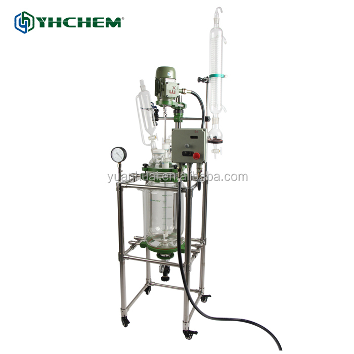 Reactor para cosmeticos the autoclave glass reactor for lab