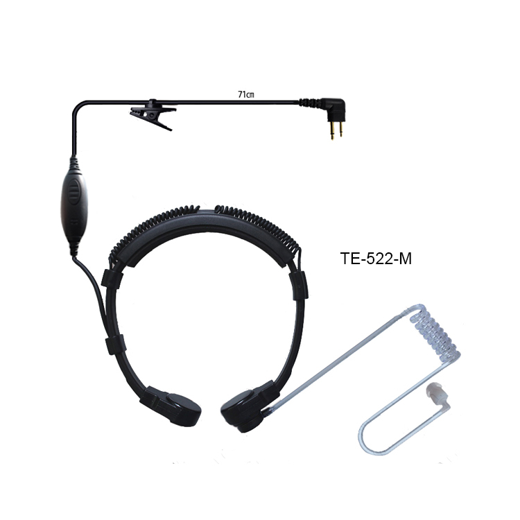 Acoustic Tube Headset Earpiece for Motorola Radio Mag One BPR40 EP450 AU1200