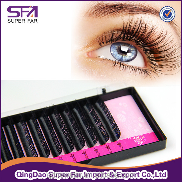 12 line 16 lien Korea synthetic Mink Lash For Eyelash Extension