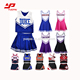 Hot Sales latest design Comfortable wholesale custom sublimated Basketball Cheerleader Uniform