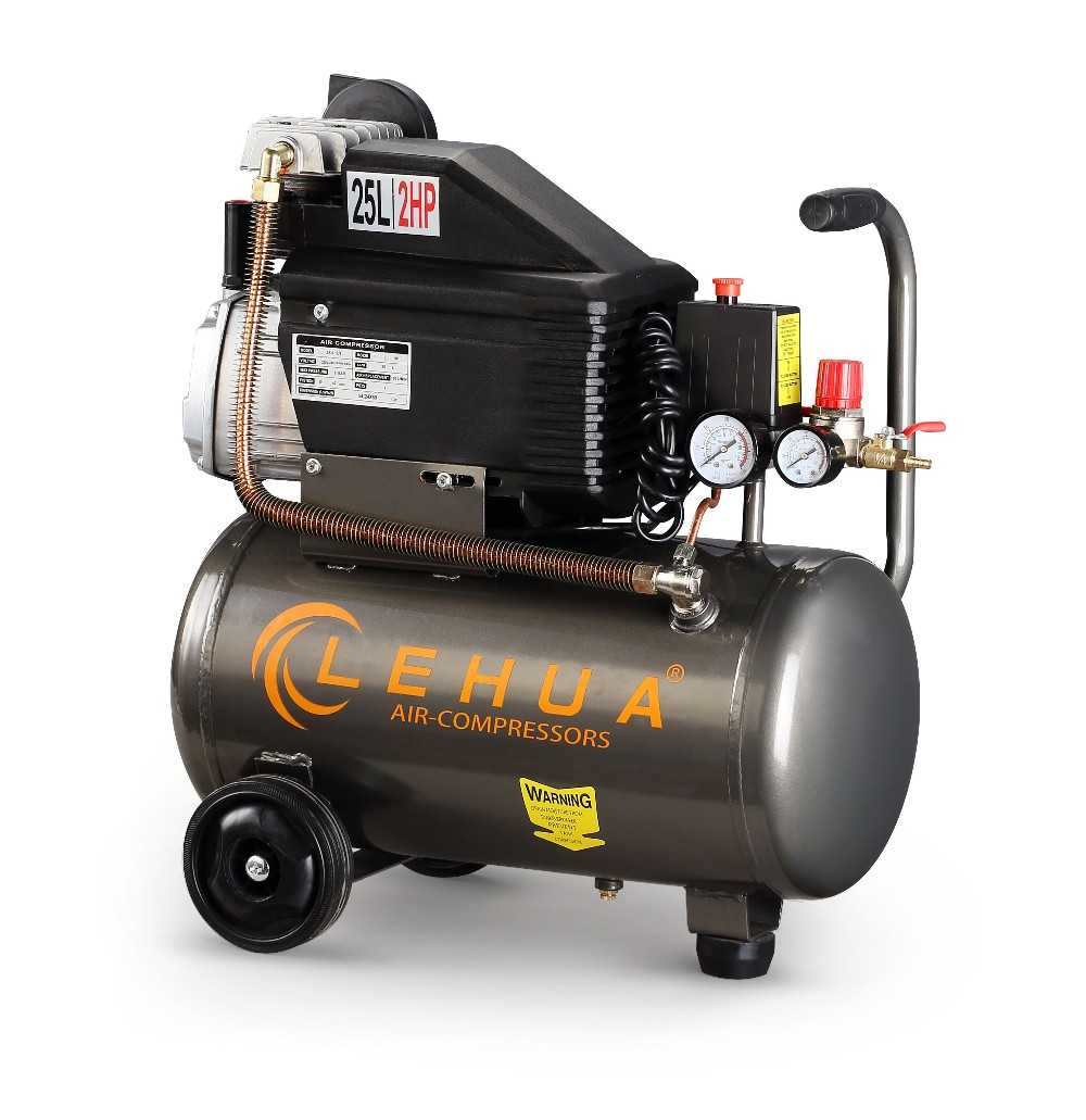 Small mobile oil free engine driven air compressor bed pump