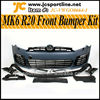 MK6 R20 Front Bumper Kits With Led Lamps For Golf 6 VI MK6