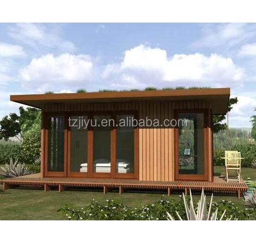 wood prefabricated houses and villas India