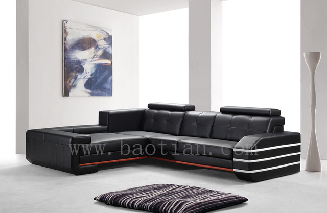 dubai furniture big L shaped leather