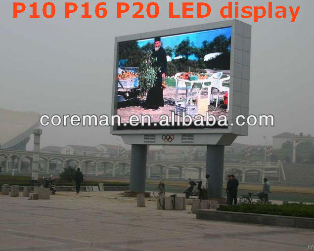 P10 Full Color Video Dip 349 Xxxx Movies P12.5 Outdoor Led Display ...