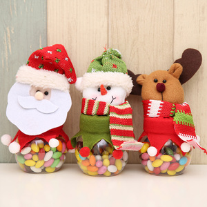 wholesale Elk Snowman Santa claus plastic christmas toy