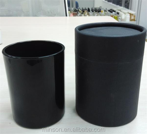 Wholesale Round Black Glass Candle Jar Holder For Holidays - Buy ...