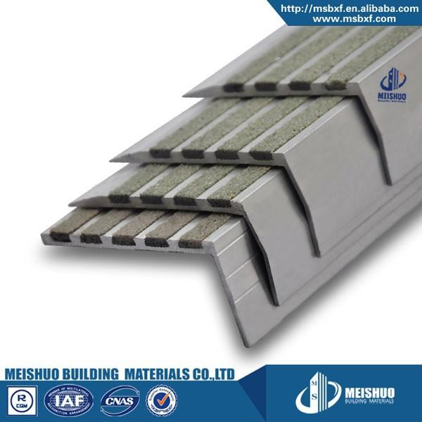 No Slip Carborundum Inserts Perforated Aluminum Concrete Stair Treads   Buy  Concrete Stair Treads,Aluminum Concrete Stair Treads,Perforated Concrete  Stair ...