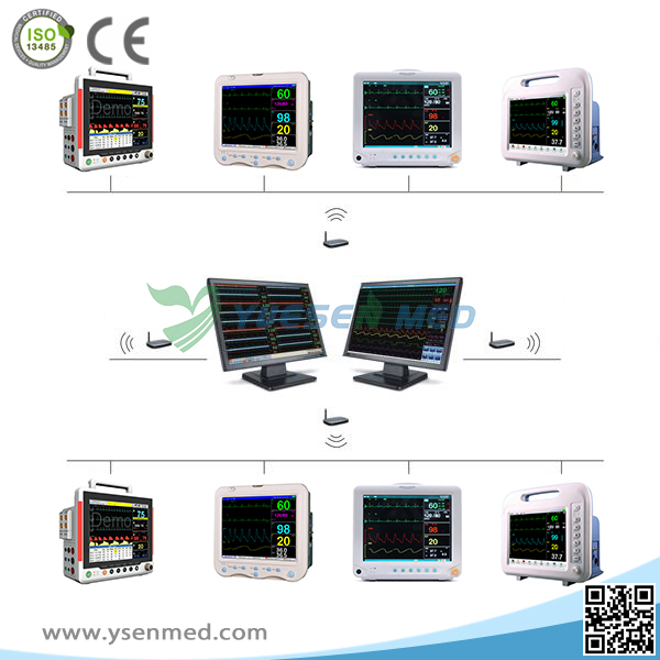 Emergency Operation Room patient monitor system