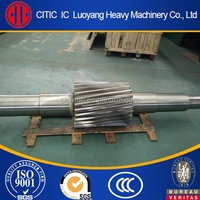 ISO 9001 certified forged pinion shaft exported to Australia