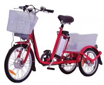 2017 Hot Selling 3 Wheel Electric Bicycle With Big Load Capacity