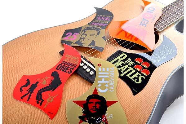 Acoustic Guitar Pickguard Material Colorful Guitar Pickguard Pk A10