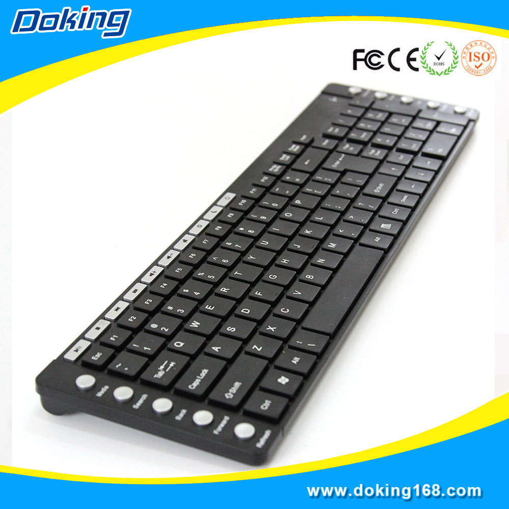 Newest universal wireless best multimedia keyboard