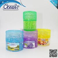 150g charming interested wholesale air freshener/superior materiaair freshener gel brands/high quality water beads air freshener