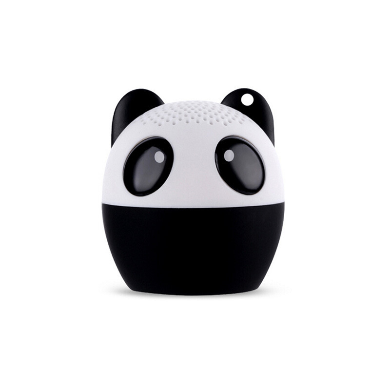 Portable mini cute animal Bluetooth audio, self timer toy gift