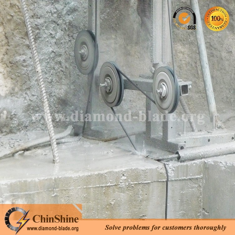 Top Quality Diamond Wire Saw Rope For Granite Marble Quarry Concrete ...