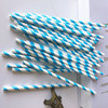 New trending product Custom straws polka dot striped paper straw party supplies decorations straw paper