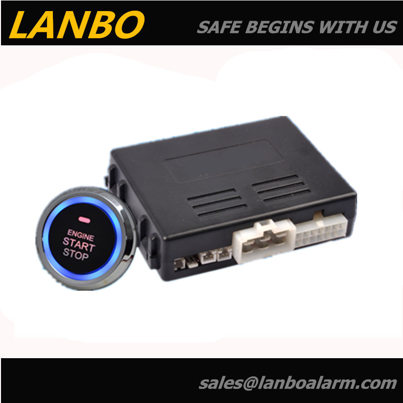 Top car engine start button system start stop push button,car alarm system with remote engine start