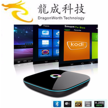 2016 Newest Model android5.1 tv box Q Box Amlogic S905X 2g 16g google smart tv box support OTA Update Online