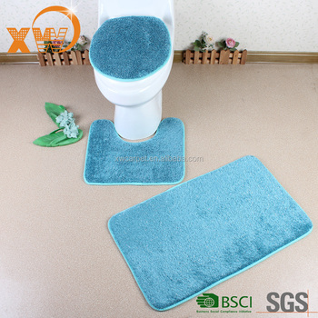 Long Pile Bathroom Mat Sets Waterproof 3 Piece Bath Rug Sets Buy